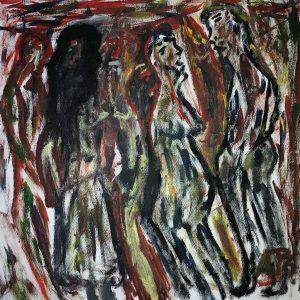 "Gemälde ""Auf dem Basar"""