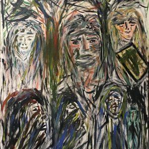"""Gemälde """"Aufstand der Normannen"""""""