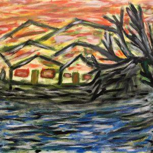 "Gemälde ""Das Inferno"""