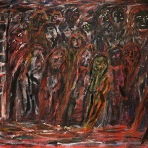 """Gemälde """"Das jüngste Gericht"""""""