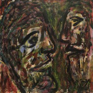 """Gemälde """"Die Gelehrten"""""""