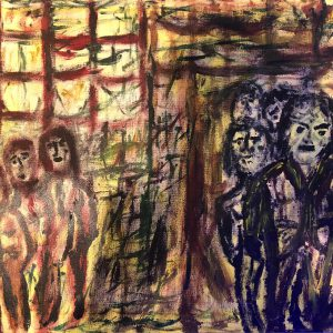 """Gemälde """"Die Einladung"""""""